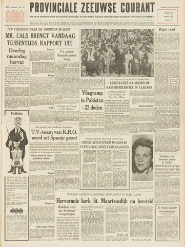 Provinciale Zeeuwse Courant 1965-03-27