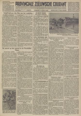 Provinciale Zeeuwse Courant 1942-07-10