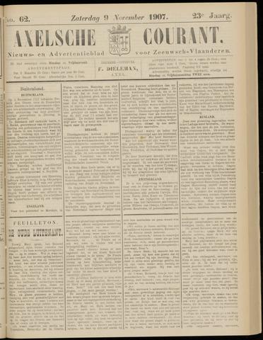 Axelsche Courant 1907-11-09
