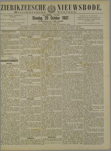 Zierikzeesche Nieuwsbode 1907-10-29