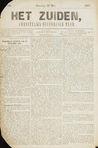 Het Zuiden, Christelijk-historisch blad 1877-05-29