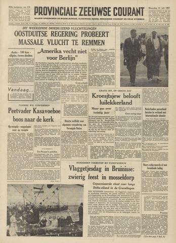 Provinciale Zeeuwse Courant 1961-07-31