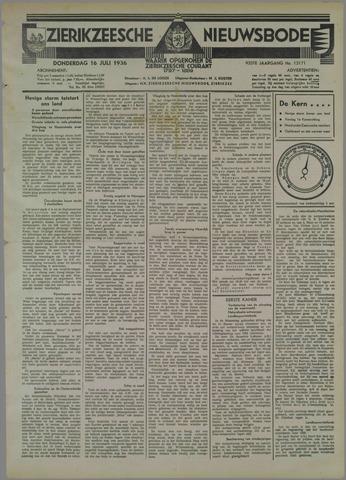 Zierikzeesche Nieuwsbode 1936-07-16