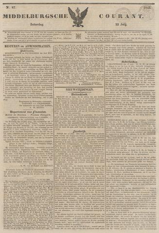 Middelburgsche Courant 1843-07-22