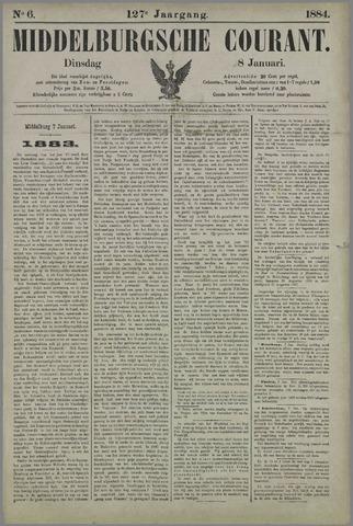 Middelburgsche Courant 1884-01-08