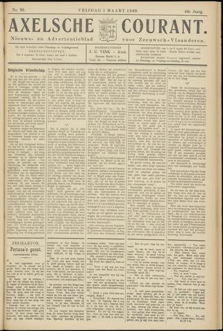 Axelsche Courant 1929-03-01