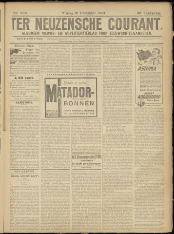 Ter Neuzensche Courant. Algemeen Nieuws- en Advertentieblad voor Zeeuwsch-Vlaanderen / Neuzensche Courant ... (idem) / (Algemeen) nieuws en advertentieblad voor Zeeuwsch-Vlaanderen 1928-12-21