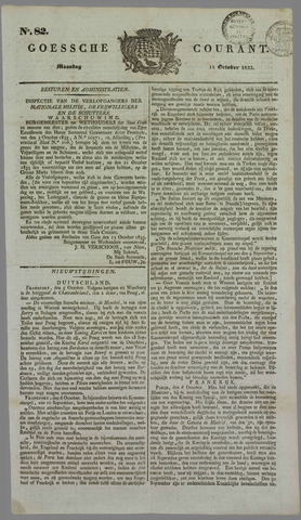 Goessche Courant 1833-10-14