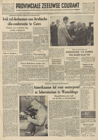 Provinciale Zeeuwse Courant 1958-08-12