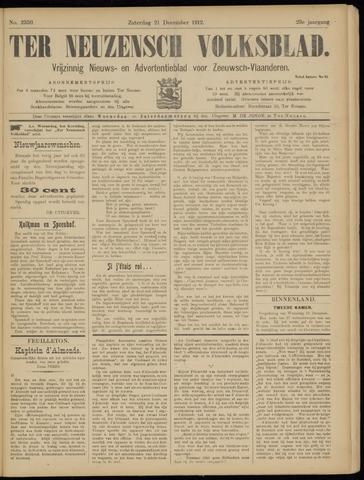 Ter Neuzensch Volksblad. Vrijzinnig nieuws- en advertentieblad voor Zeeuwsch- Vlaanderen / Zeeuwsch Nieuwsblad. Nieuws- en advertentieblad voor Zeeland 1912-12-21