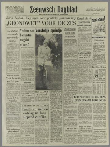 Zeeuwsch Dagblad 1961-07-19