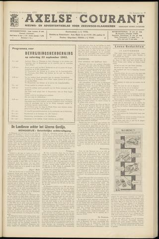 Axelsche Courant 1962-09-15
