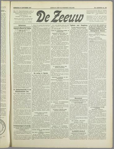 De Zeeuw. Christelijk-historisch nieuwsblad voor Zeeland 1937-09-16
