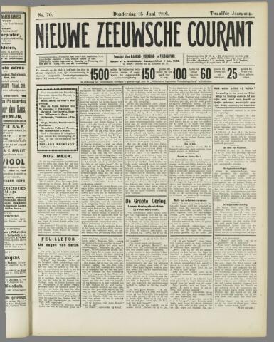 Nieuwe Zeeuwsche Courant 1916-06-15