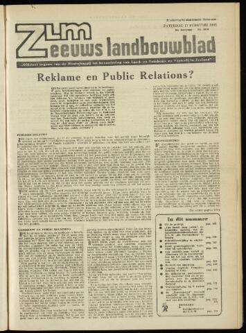 Zeeuwsch landbouwblad ... ZLM land- en tuinbouwblad 1962-02-16