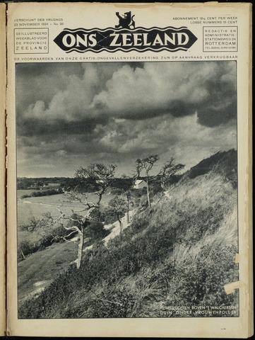 Ons Zeeland / Zeeuwsche editie 1934-11-23