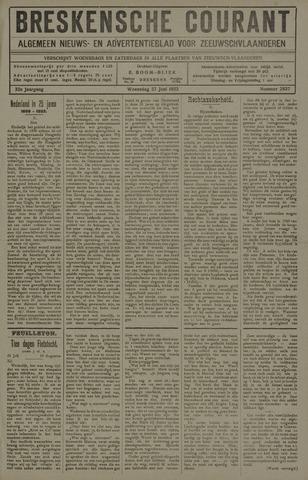 Breskensche Courant 1923-06-27