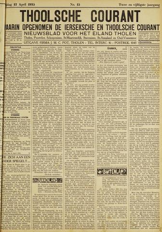 Ierseksche en Thoolsche Courant 1935-04-12