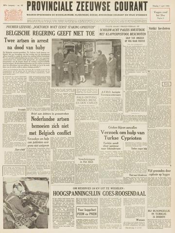 Provinciale Zeeuwse Courant 1964-04-07