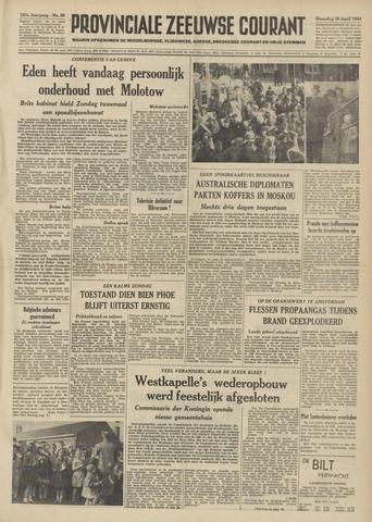 Provinciale Zeeuwse Courant 1954-04-26