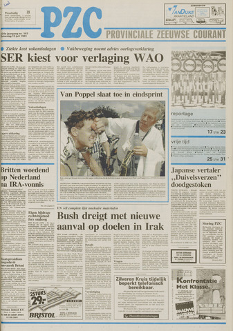 Provinciale Zeeuwse Courant 1991-07-13