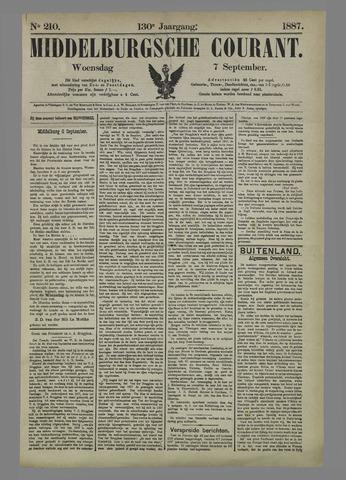 Middelburgsche Courant 1887-09-07