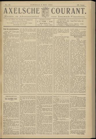 Axelsche Courant 1932-05-03