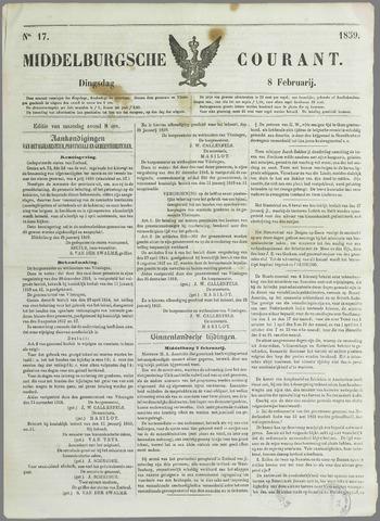 Middelburgsche Courant 1859-02-08