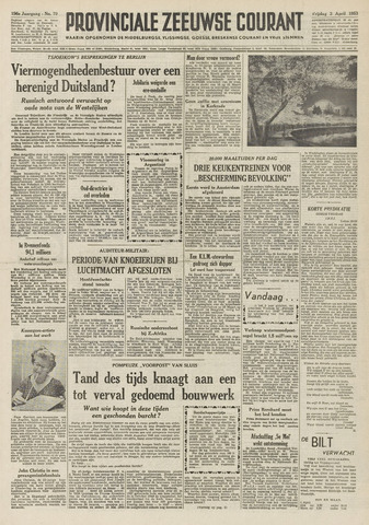 Provinciale Zeeuwse Courant 1953-04-03