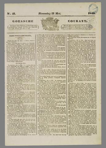 Goessche Courant 1849-05-21