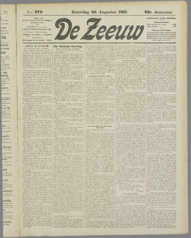 De Zeeuw. Christelijk-historisch nieuwsblad voor Zeeland 1915-08-28
