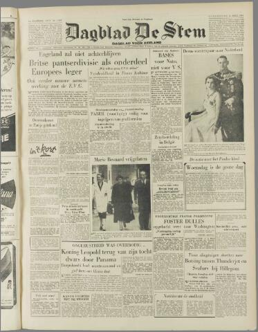 de Stem 1954-04-15