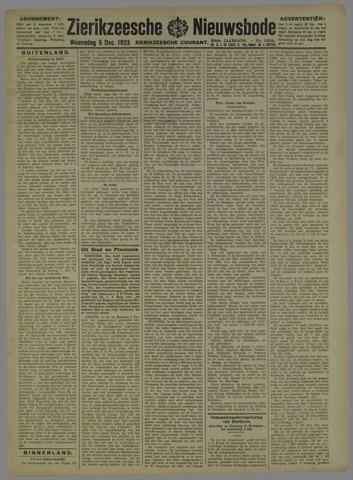 Zierikzeesche Nieuwsbode 1923-12-05