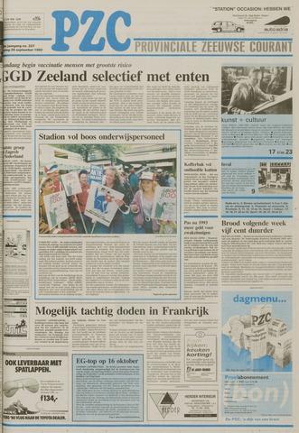 Provinciale Zeeuwse Courant 1992-09-25