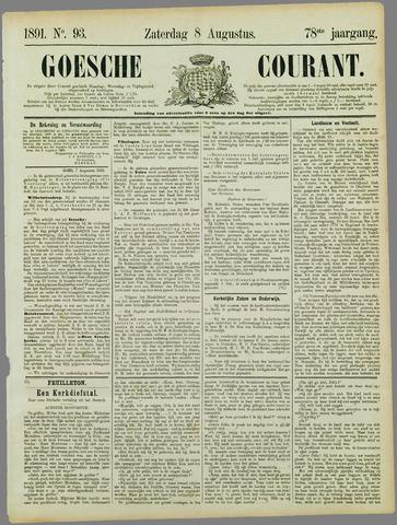 Goessche Courant 1891-08-08