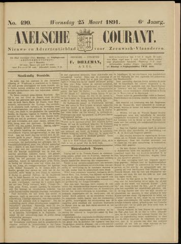 Axelsche Courant 1891-03-25