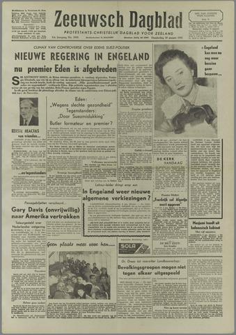 Zeeuwsch Dagblad 1957-01-10