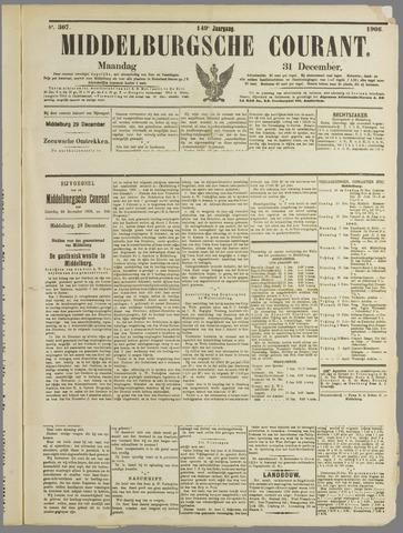 Middelburgsche Courant 1906-12-31