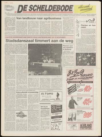 Scheldebode 1991-10-30