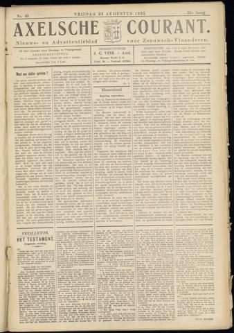 Axelsche Courant 1935-08-23