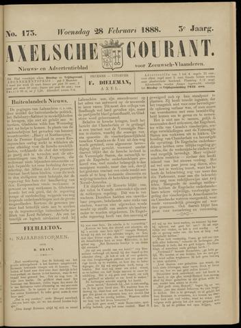 Axelsche Courant 1888-02-29
