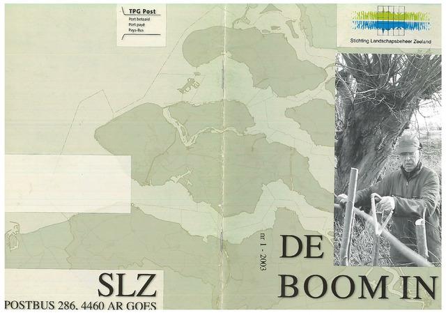 Landschapsbeheer Zeeland - de Boom in 2003-04-01