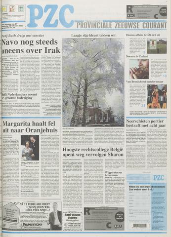 Provinciale Zeeuwse Courant 2003-02-13