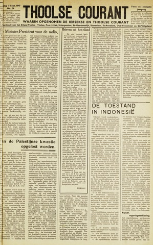 Ierseksche en Thoolsche Courant 1947-09-05