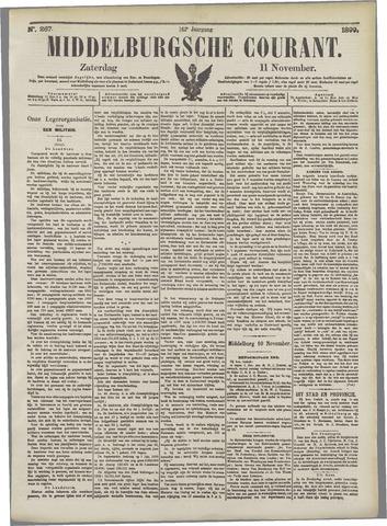 Middelburgsche Courant 1899-11-11