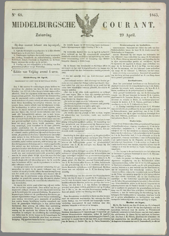 Middelburgsche Courant 1865-04-29