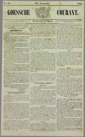 Goessche Courant 1861-03-28