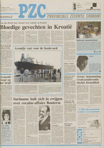 Provinciale Zeeuwse Courant 1991-07-29