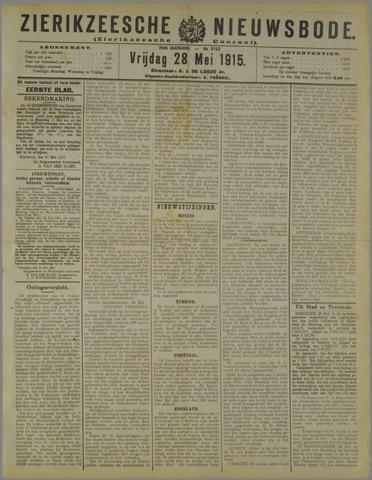 Zierikzeesche Nieuwsbode 1915-05-28