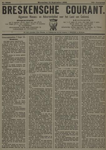 Breskensche Courant 1915-09-15